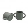 Tasse en silicone / gris sauge