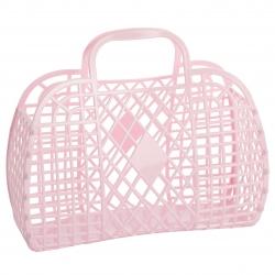 Panier Retro large Pink