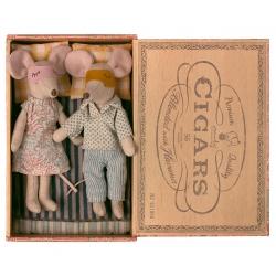 Maman et papa Souris / Boîte à cigares Maileg
