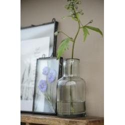 Petit vase à col en verre soufflé