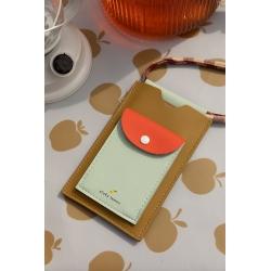 Pochette pour téléphone Sticky lemon / Pool Green