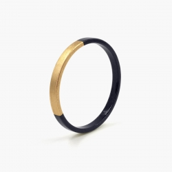 Bracelet Trinity rond Noir