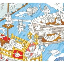 Poster à colorier Pirates