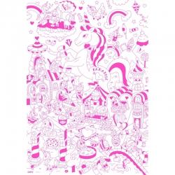 Poster à colorier Lily