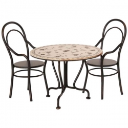 Table & chaises Maileg