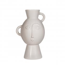 Vase Amira light grey